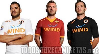 Camisetas  Nueva Kappa Roma 2011-2012. Por Eleté (Periodista especialista  en marketing deportivo) afb2742614d59