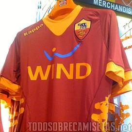 Camisetas  Nueva Kappa Roma 2011-2012  068eec992273e