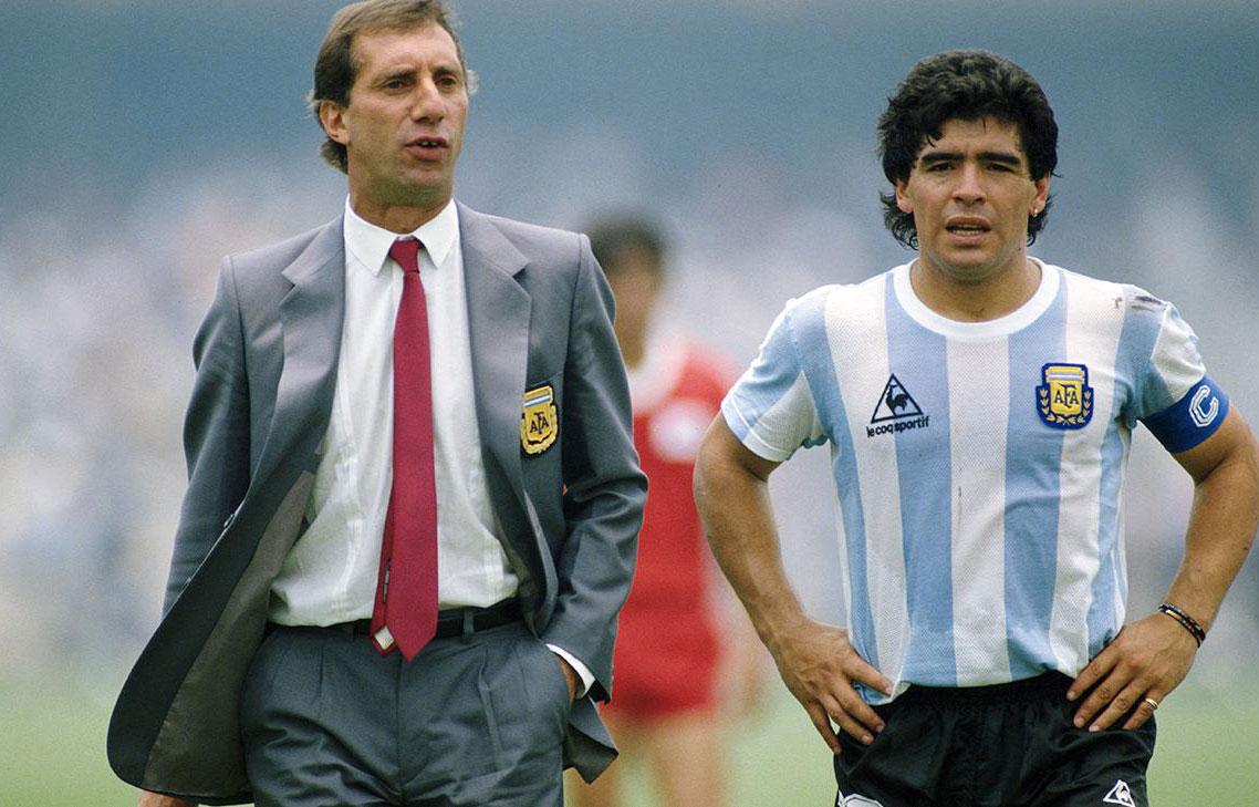 Bilardo y Maradona