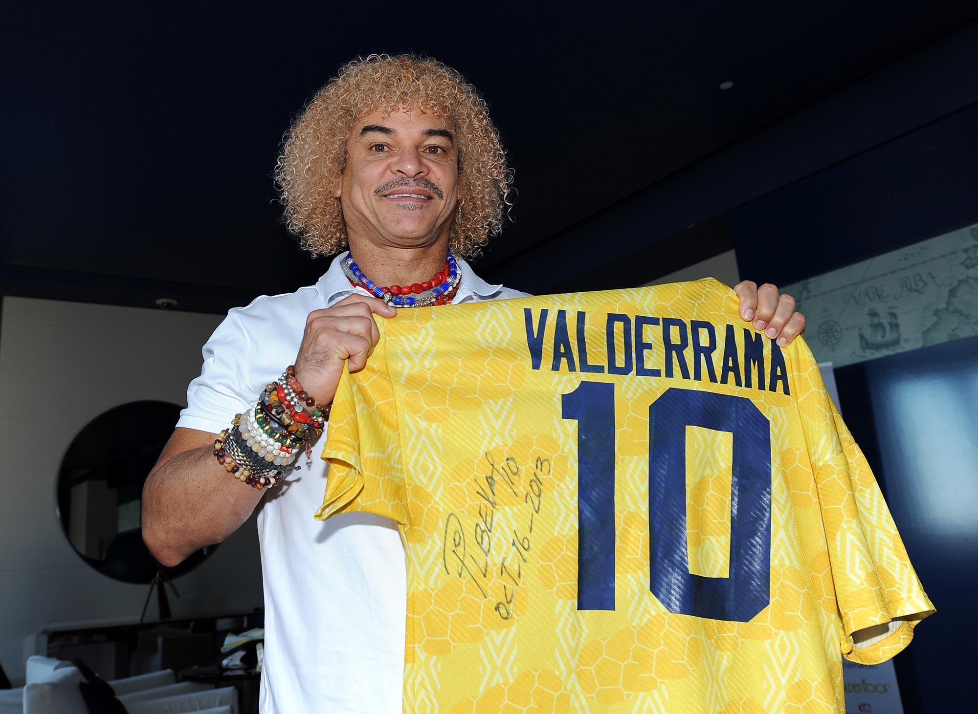 Valderrama con el 10