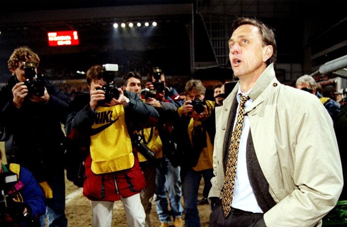 Johan Cruyff con el Barcelona
