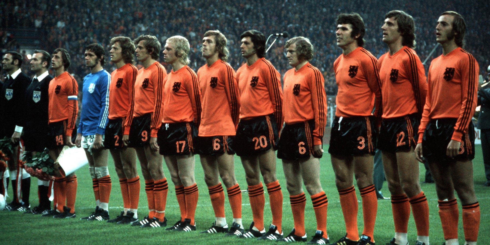 Alineación de Holanda 74