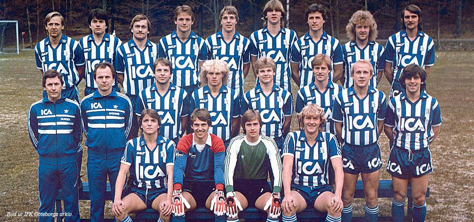 Plantilla Goteborg 1992