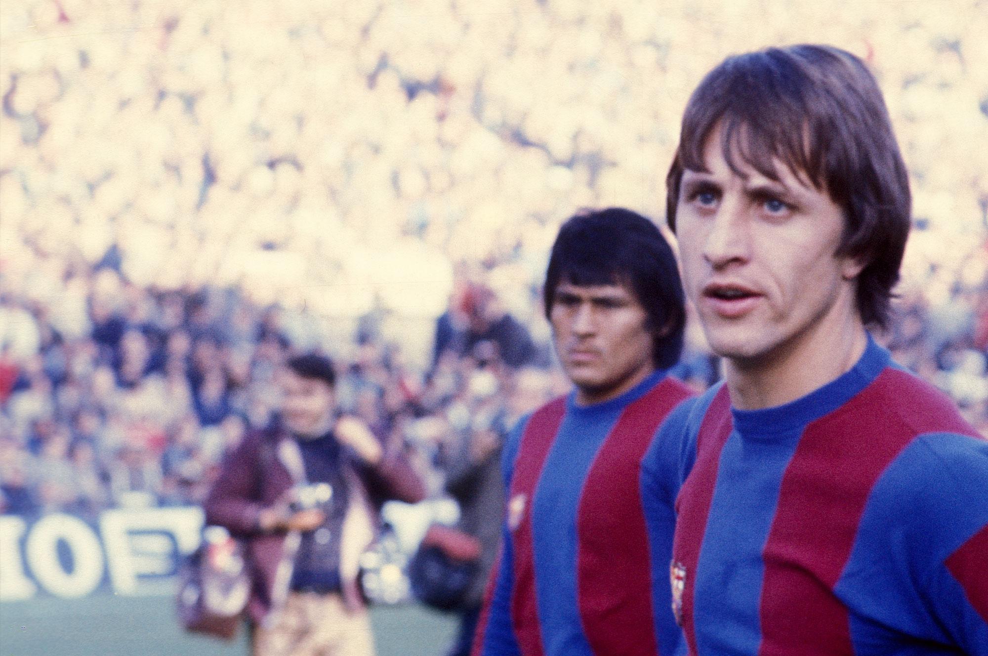 Cruyff jugador Barcelona