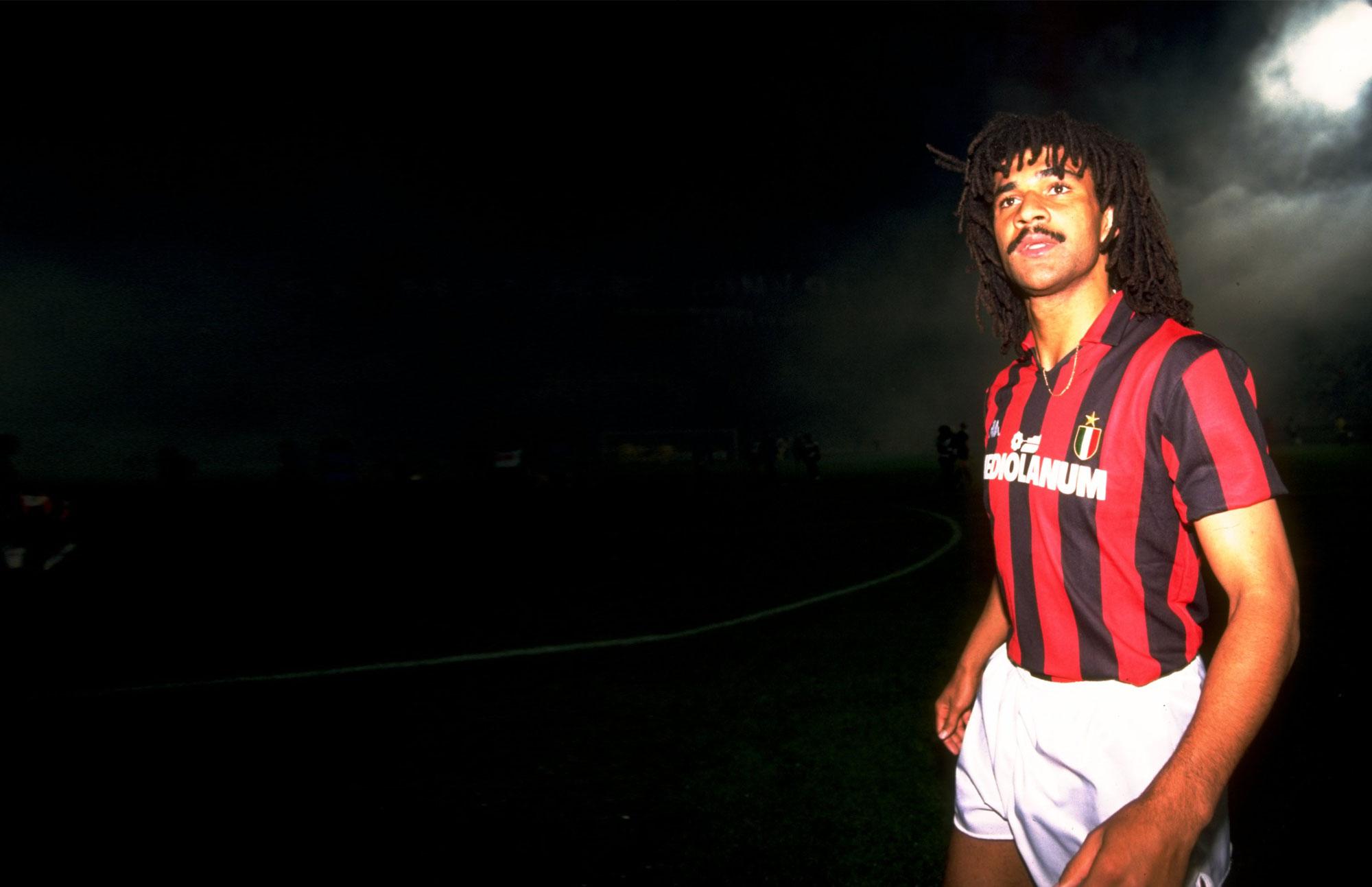Gullit  con el Milan