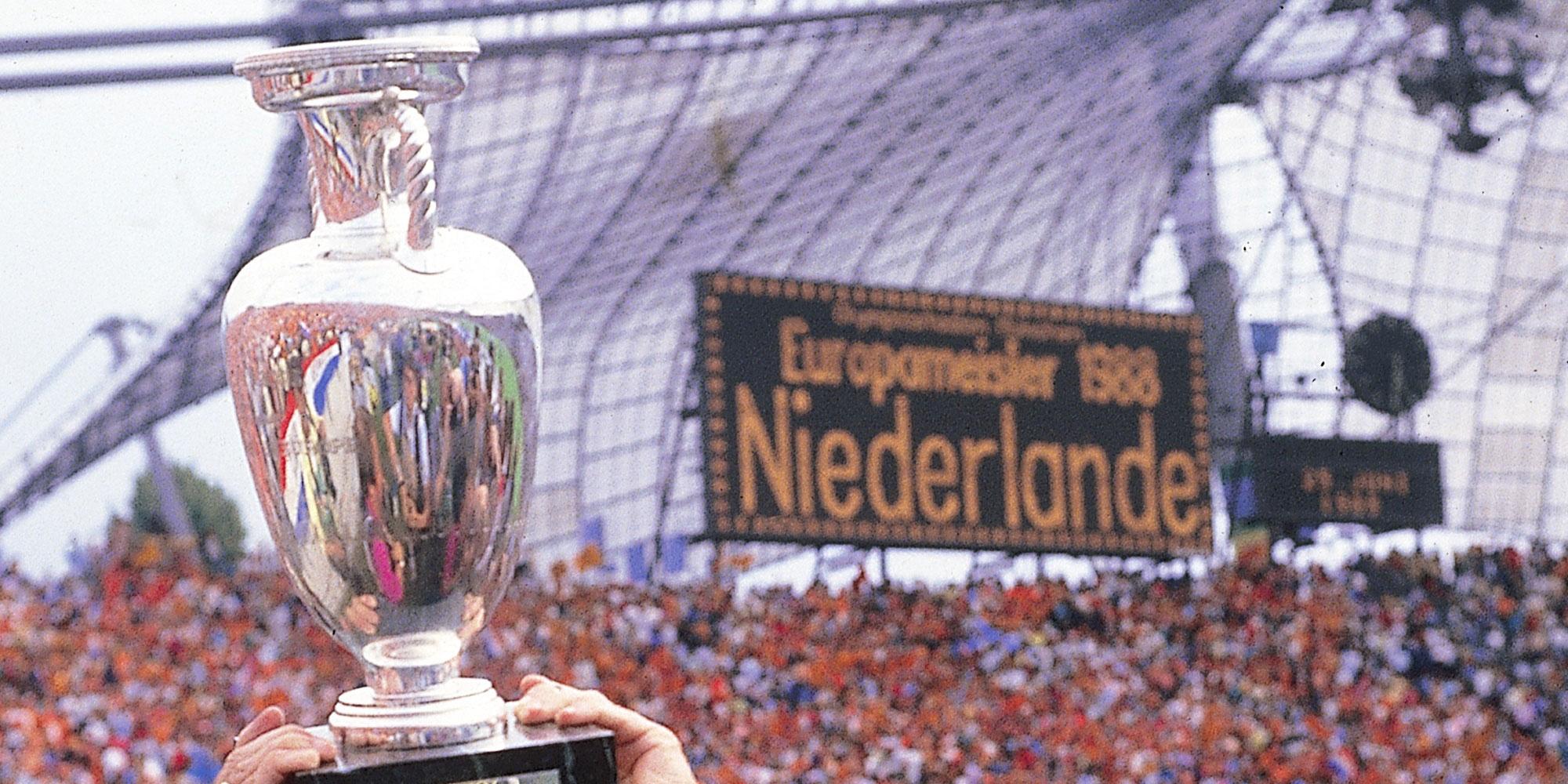 Holanda gana la Eurocopa 1988