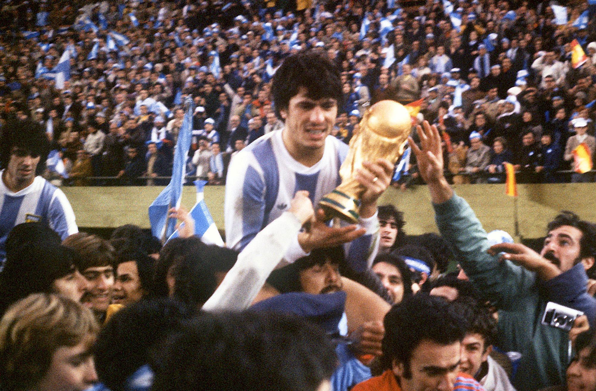 Argentina levanta el Mundial del 78