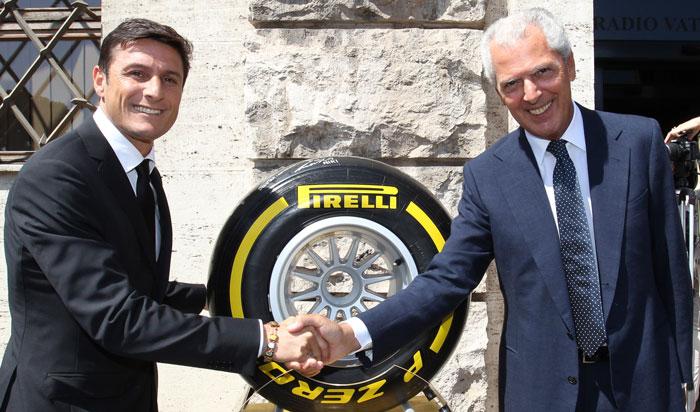 Zanetti como vicepresidente del Inter