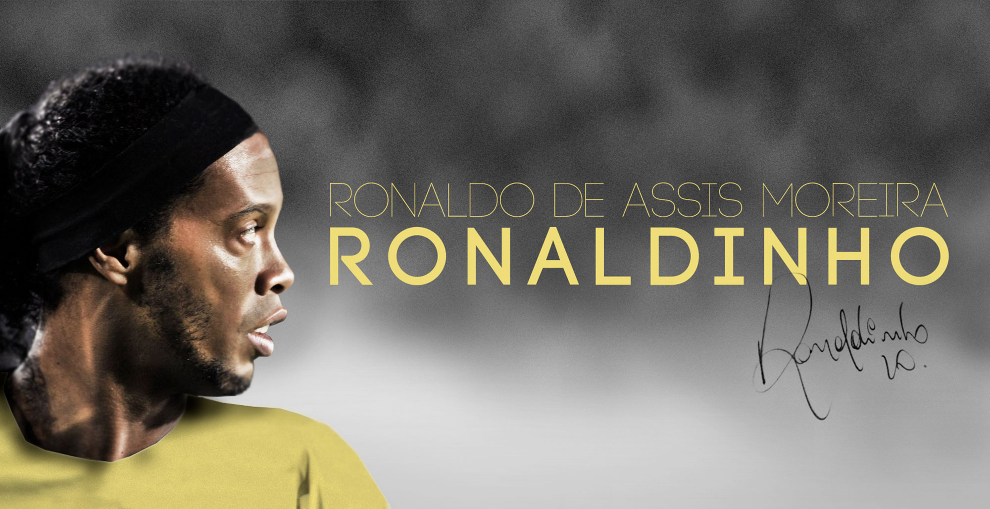 Firma de Ronaldinho