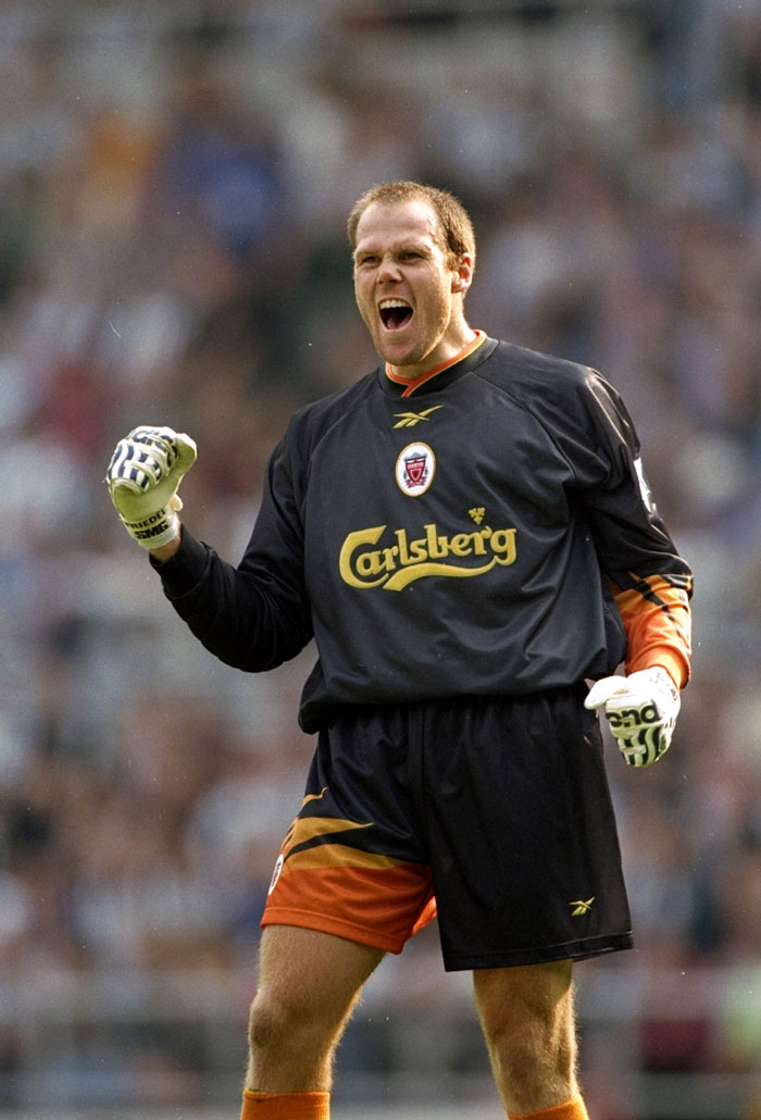 Friedel con el Liverpool