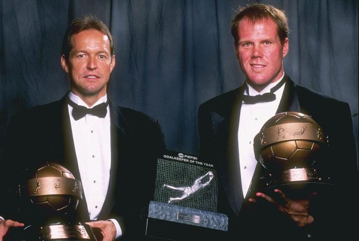 Friedel recibe el premio a mejor portero de la MLS