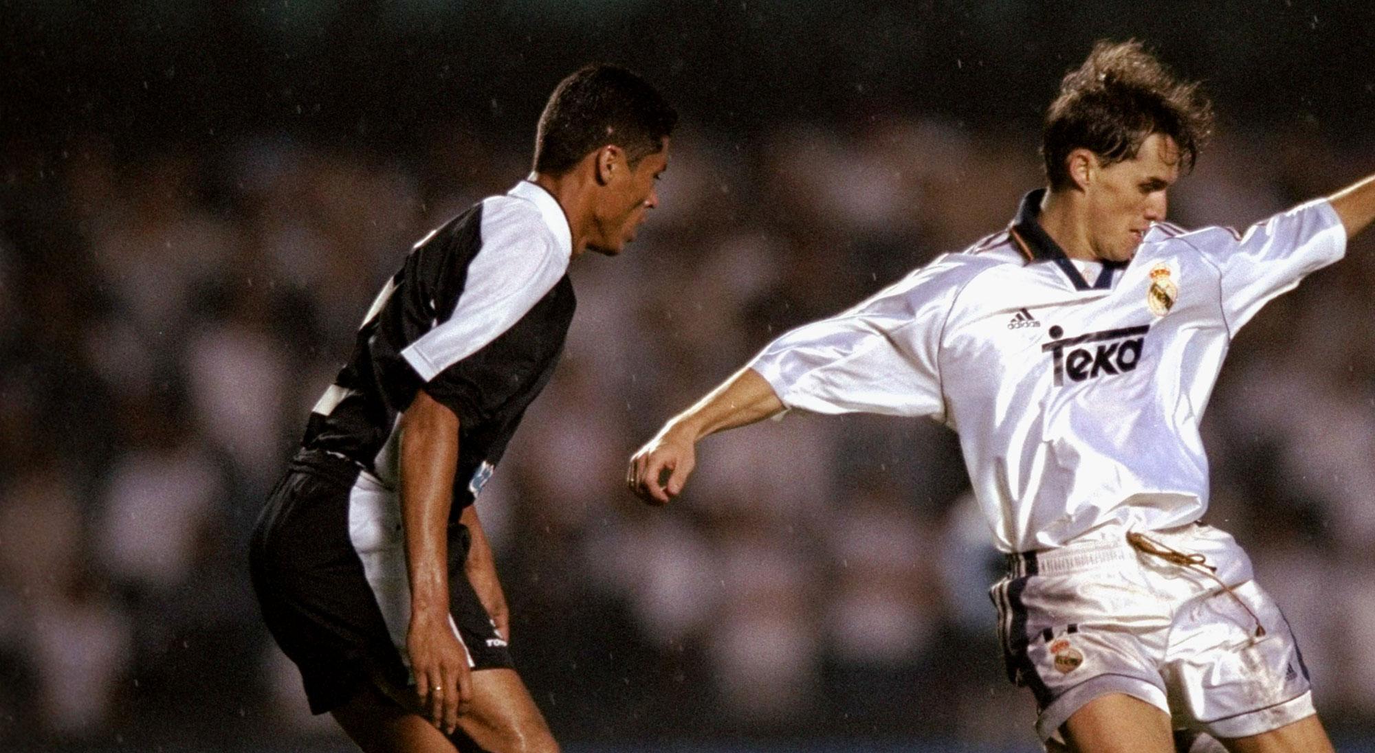 Savio en el Real Madrid - Corinthians del Mundial de Clubes 2000