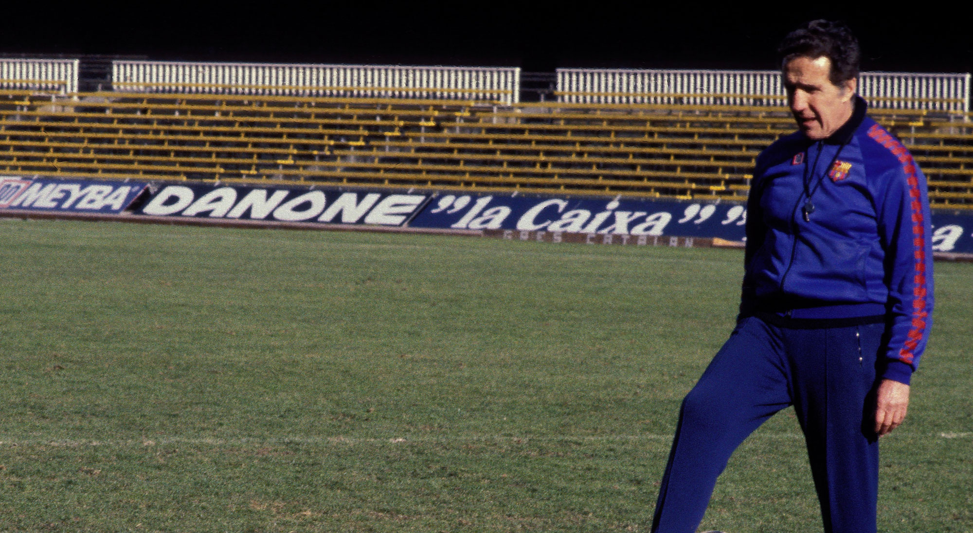 Helenio Herrera como entrenador del Barcelona