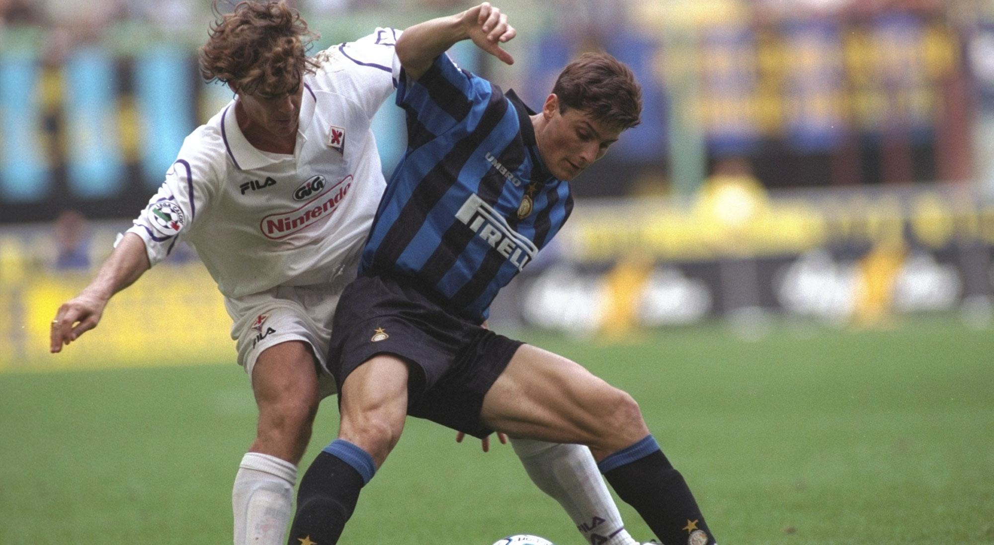Comienzos de Zanetti en el inter