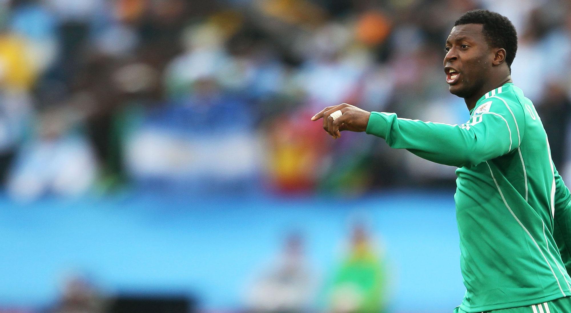 Martins con Nigeria en el Mundial de 2010