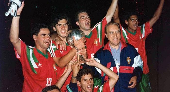 Portugal Sub 20 1989