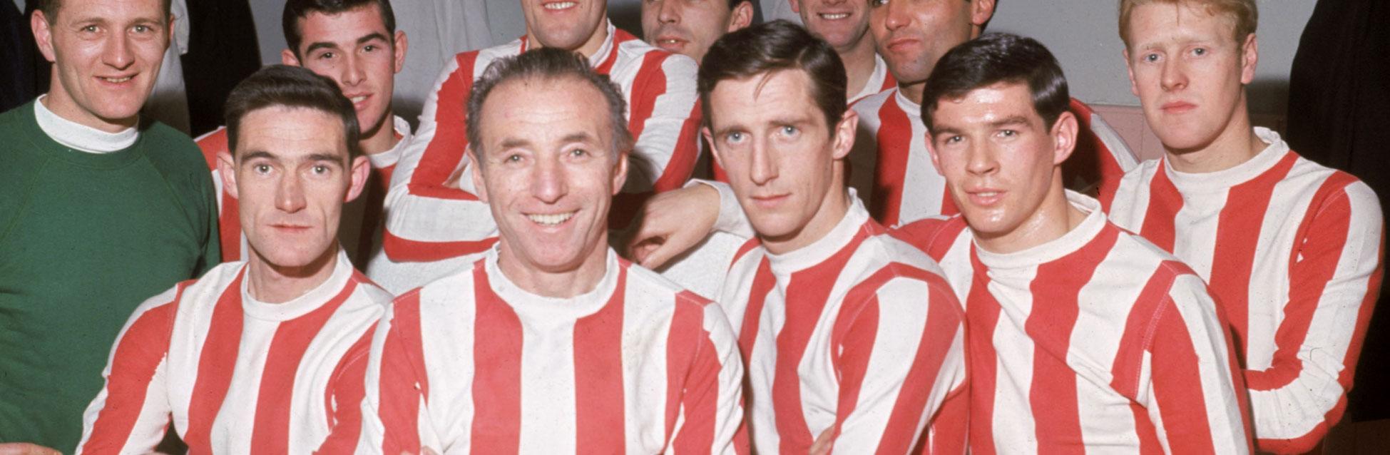 Stanley Matthews con el Stoke
