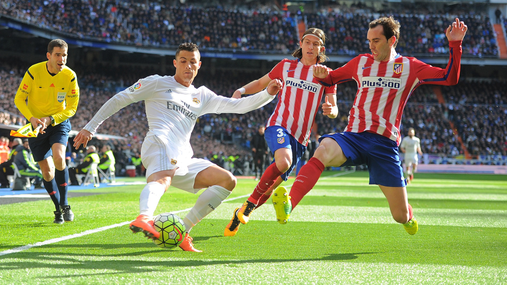 Real Madrid CF v Club Atletico de Madrid - La Liga