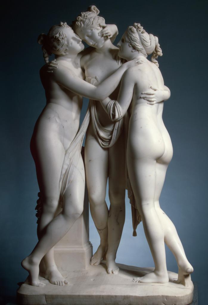 N.SK.-506;0; Canova, Antonio. The Three Graces.