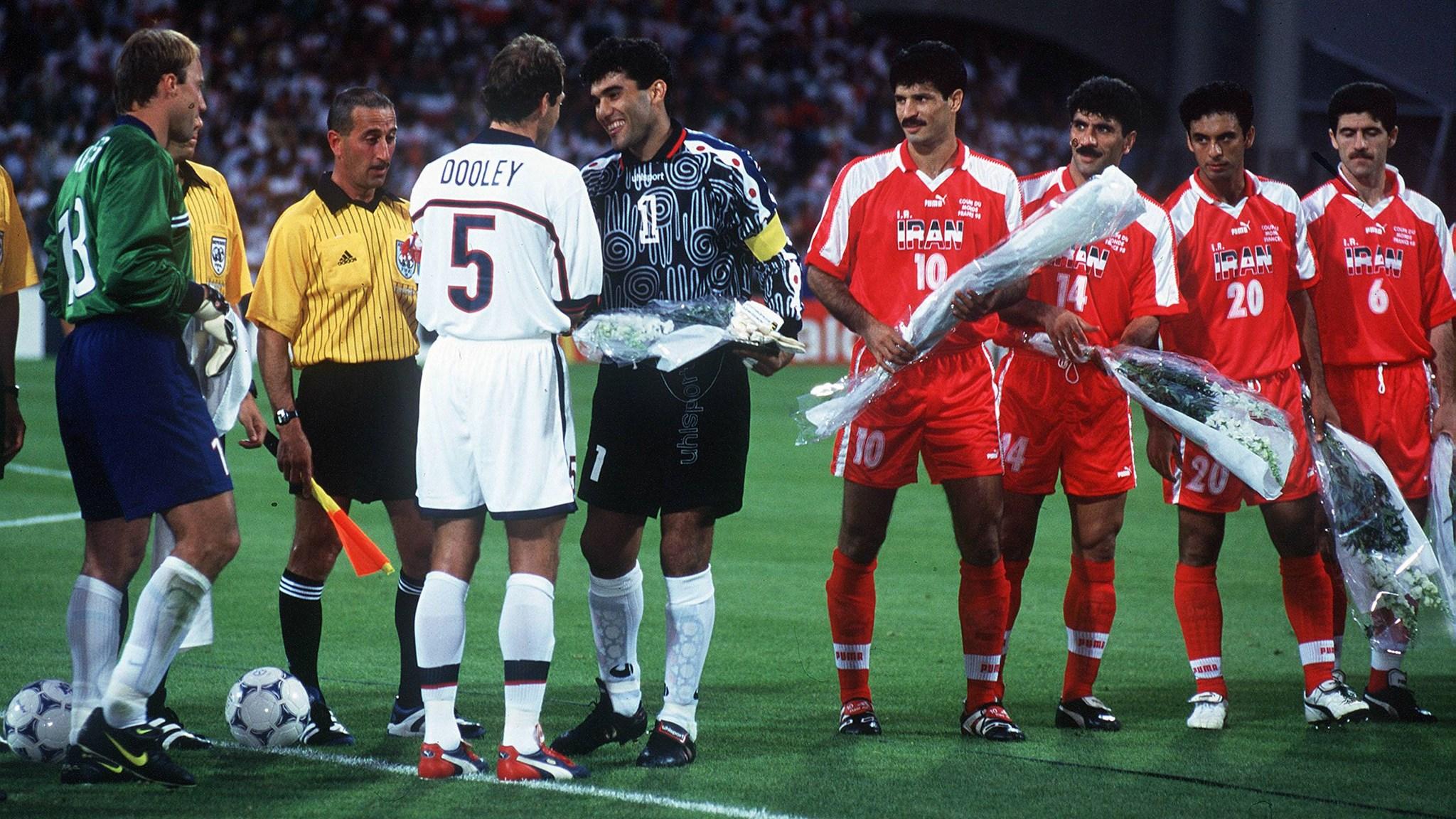 Resultado de imagen para futbol iran estados unidos